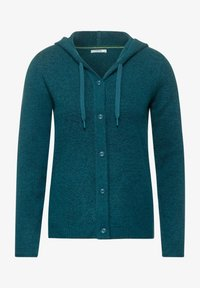 Cecil - FLEX  - Cardigan - atlantic green melange - 3