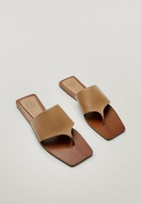 Massimo Dutti - JOIN LIFE - Mules - brown - 5