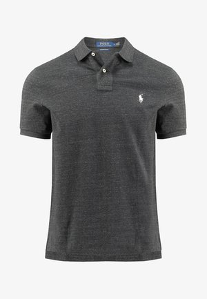 CUSTOM SLIM FIT - Polo - black