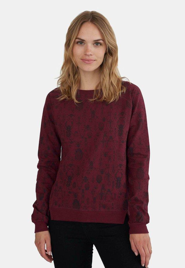 Sweatshirts - dark purple