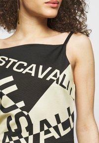 Just Cavalli - Žerzejové šaty - natural variant - 4