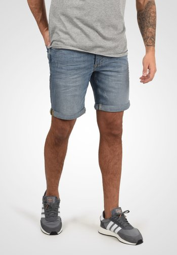 LUKE - Denim shorts - denim ligh