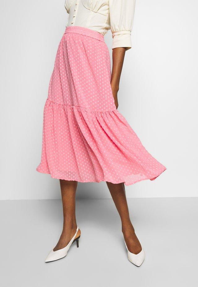 LIZE - Áčková sukně - conch shell pink