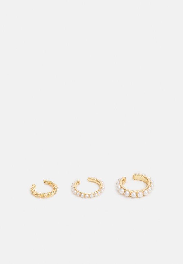 EAR CUFF 3 PACK - Oorbellen - gold-coloured