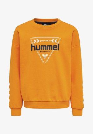 Jumper - bright marigold