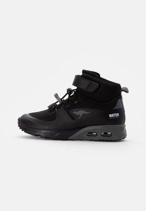 X-HYDRO - Sneaker high - jet black/steel grey
