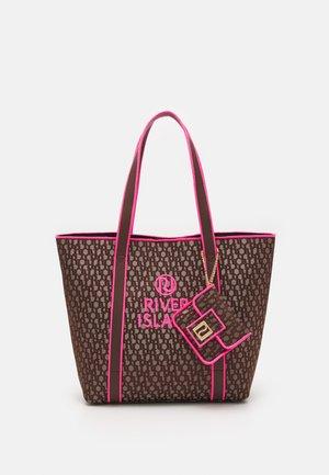 SET - Tote bag - brown