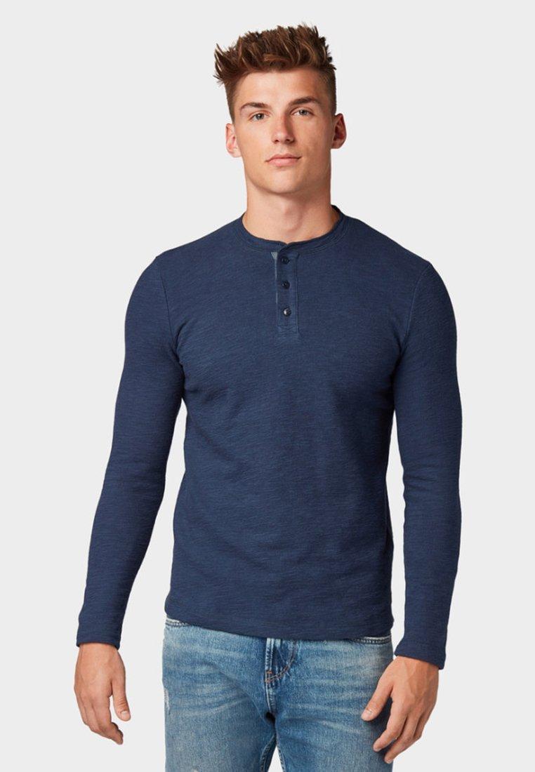 TOM TAILOR DENIM - Long sleeved top -  blue