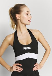 Puma - NEON BRIGHTS ACTIVE BODYSUIT - Turnanzug - black - 3