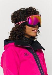 Giro - MIL - Gogle narciarskie - pink neon lights/vivid pink - 0