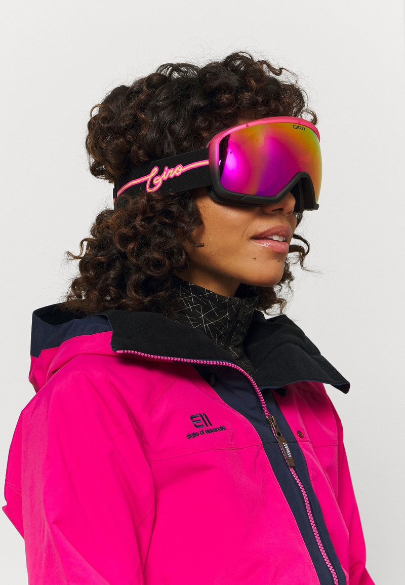 Giro - MIL - Gogle narciarskie - pink neon lights/vivid pink