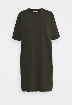 REGITZA DRESS - Jerseykjole - racing green