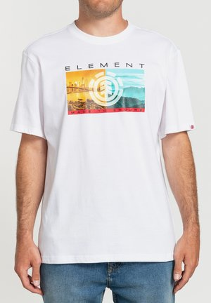 SENTINEL  - Print T-shirt - optic white