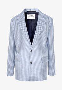 Mads Nørgaard - DOGTOOTH BORNILLA - Short coat - blue - 5
