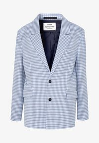 DOGTOOTH BORNILLA - Short coat - blue