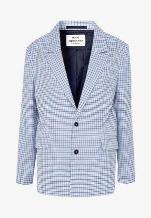 DOGTOOTH BORNILLA - Short coat - blue