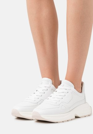 WILLOW RUNNER - Trainers - oat/white