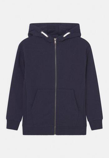ZIP HOODY - Zip-up sweatshirt - navy