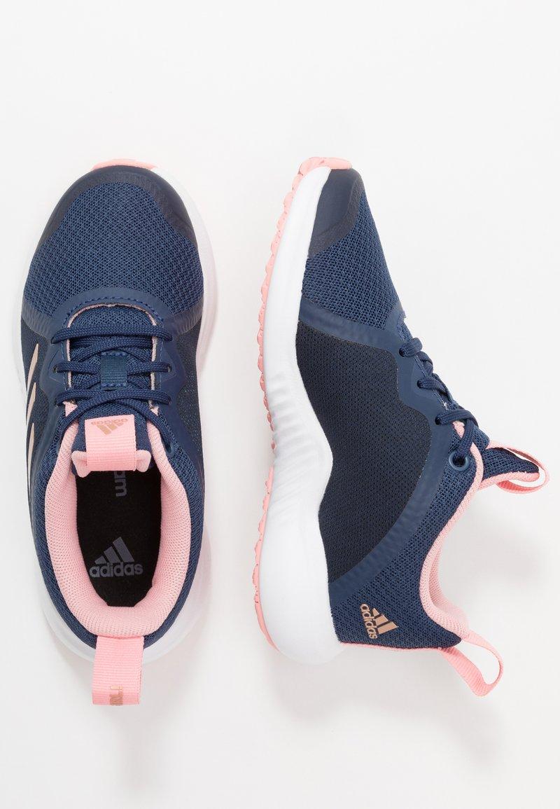 adidas Performance - FORTARUN X - Chaussures de running neutres - tech indigo/copper metallic/glow pink