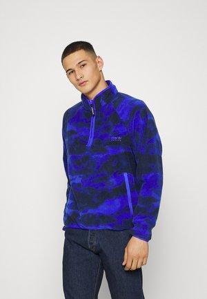 Fleece jumper - sonic ink