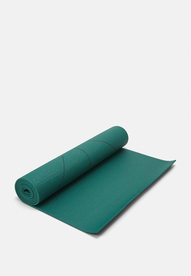 YOGA MAT SIMPLE RESISTANT BAND SET - Fitness / yoga - green
