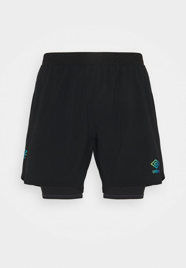 PRO TRAINING ELITE HYBRID SHORT  - Pantaloncini sportivi - black/carbon