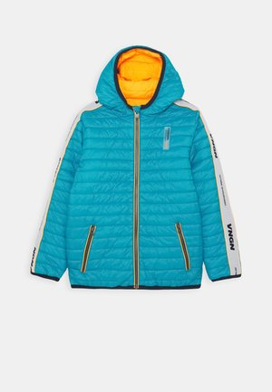 THAN - Winter jacket - cyan blue