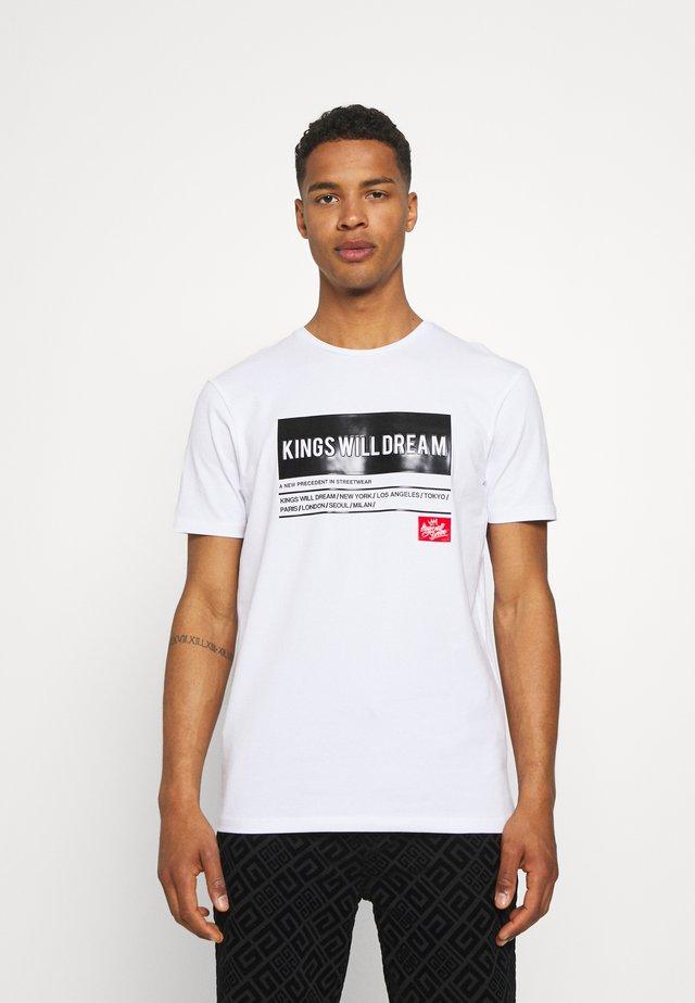 TAYPORT TEE - T-shirt print - white