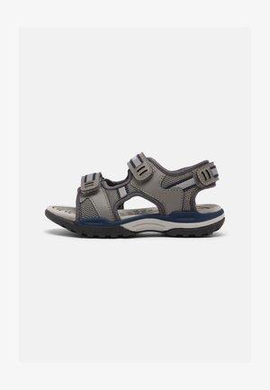 BOREALIS BOY - Walking sandals - grey/blue