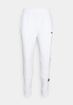 REPEAT - Träningsbyxor - white/black