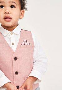 Next - SET - Suit waistcoat - pink - 1