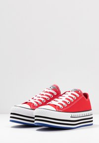 Converse - CHUCK TAYLOR ALL STAR LIFT ARCHIVAL  - Joggesko - university red/white/black - 4