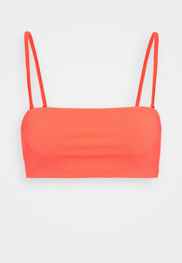 PEARL SWIM - Bikiniöverdel - bright red