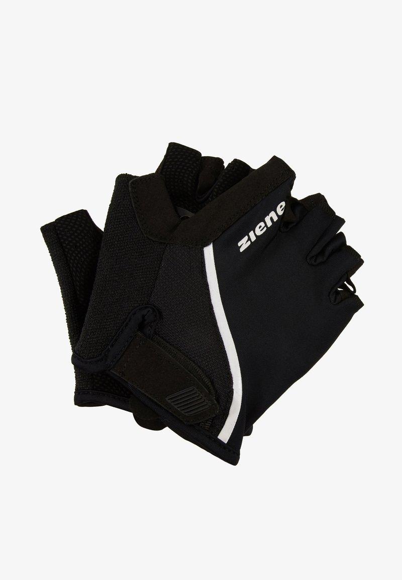 Ziener - CELAL - Kortfingerhandsker - black