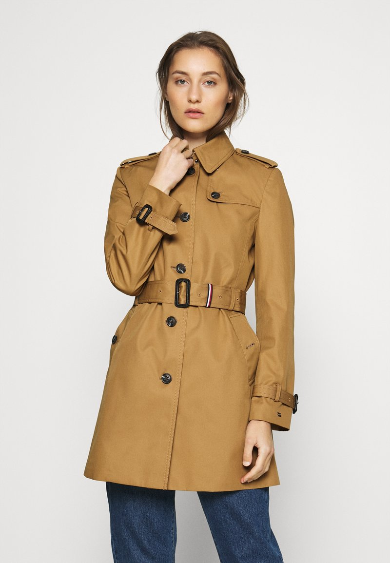 Tommy Hilfiger - SINGLE BREASTED - Trenchcoat - countryside khaki