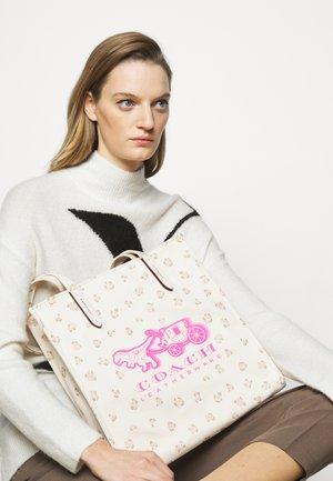 REXY AND CARRIAGE TOTE - Torba na zakupy - chalk