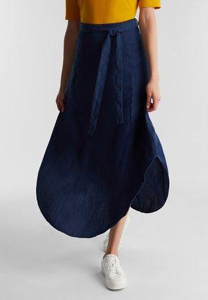Jupe trapèze - blue dark washed