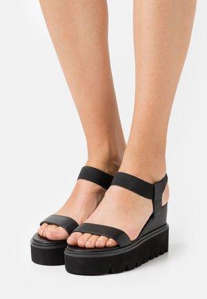 LAURY - High Heel Sandalette - black