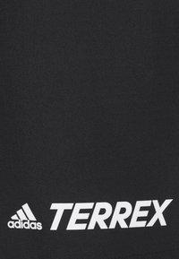 adidas Performance - TERREX PRIMEBLUE TRAIL - Sports shorts - black - 4