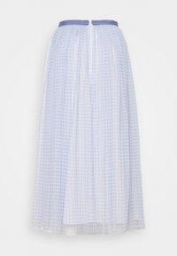 Needle & Thread - GINGHAM BALLERINA SKIRT - Áčková sukně - wedgewood blue/ivory - 1