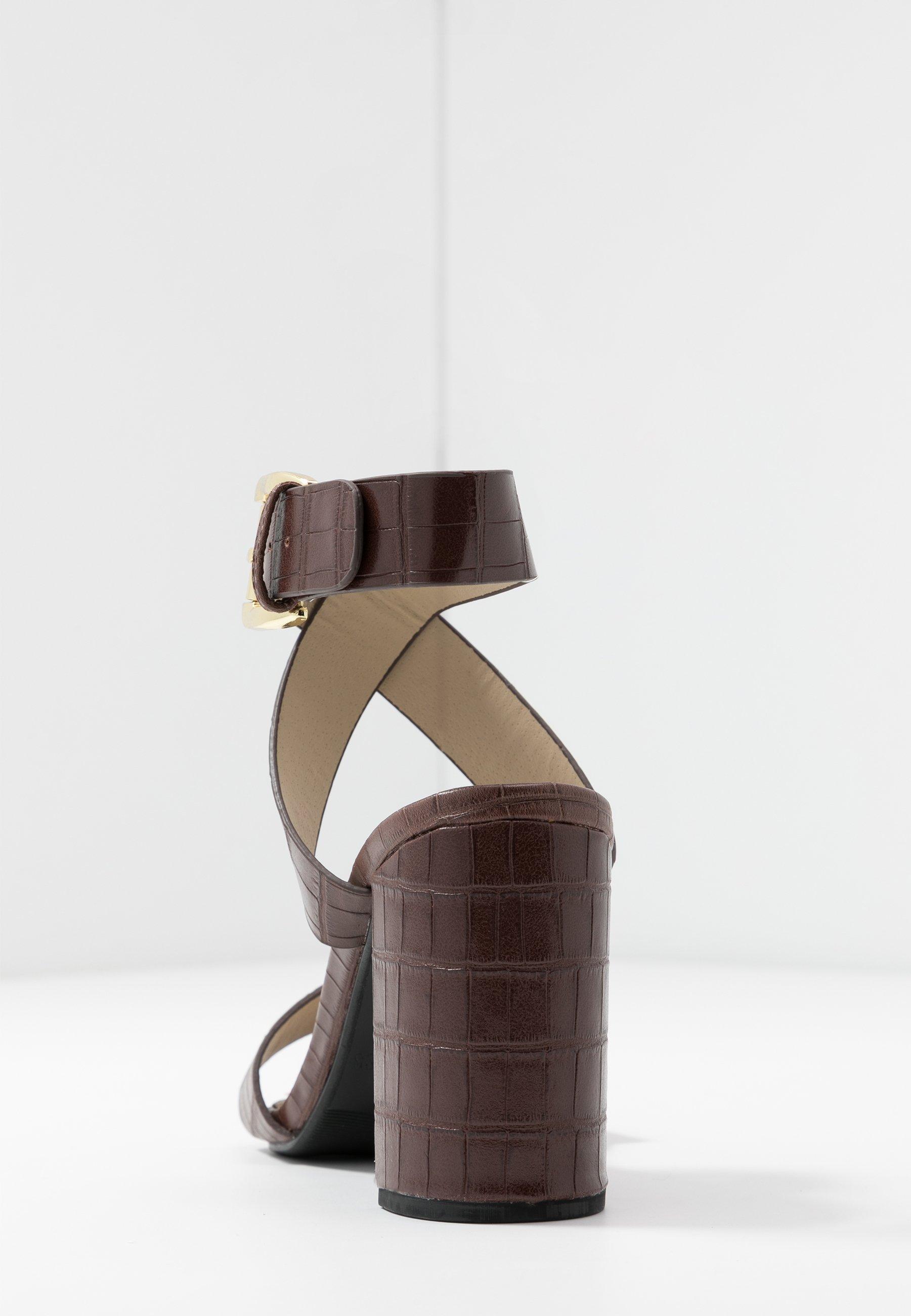 4th & Reckless Adrianna - Højhælede Sandaletter / Sandaler Brown