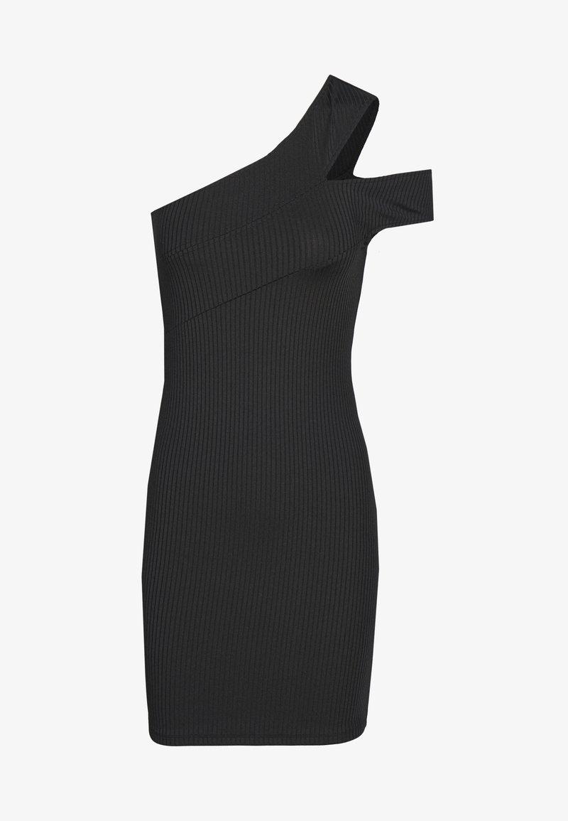 Ivyrevel - CROSS SHOULDER DRESS - Korte jurk - black