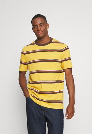 STRIPE - T-shirt con stampa - amber
