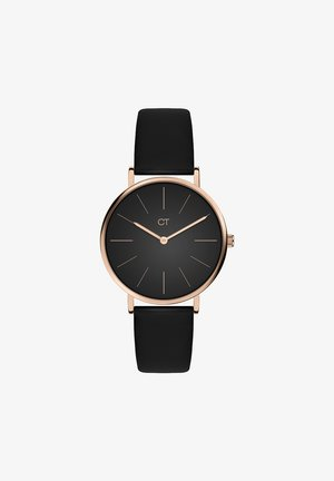 Watch - black/roségold