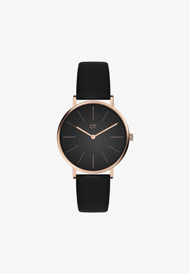 Watch - black/roségold