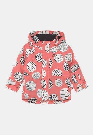 TODDLERS CLASSIC UNISEX - Snowboard jacket - pink/black/white