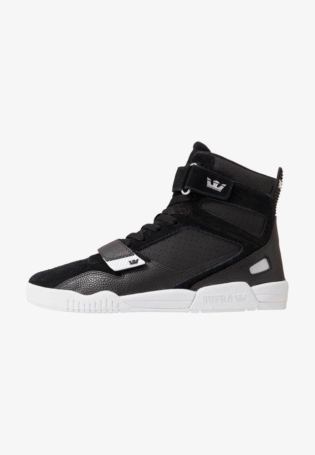 BREAKER - Sneakers hoog - black/silver/white