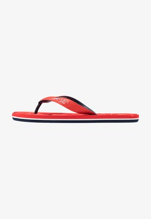 CLASSIC  - T-bar sandals - red