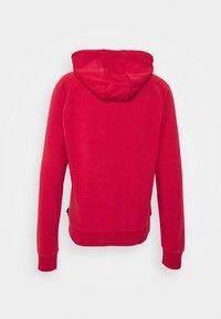 Calvin Klein - TEXT REVERSED HOODIE - Collegepaita - red - 1