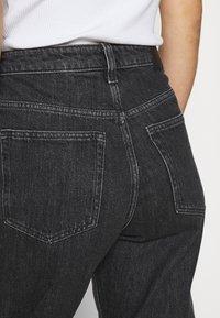 Weekday - LASH STANDARD - Jeans a sigaretta - asphalt black - 4